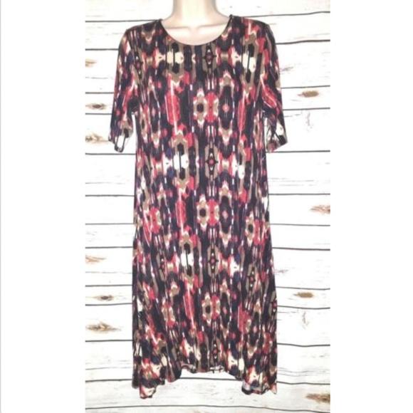2327ec712053 Anthropologie Dresses | Puella Swing Dress Southwest Ikat | Poshmark